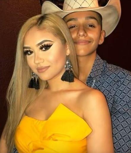 Ariadna with her ex-beau, Damian Gurrusquieta