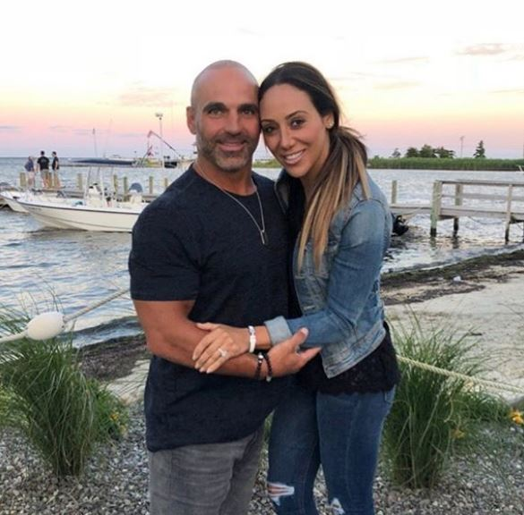 Joe with his wife, Melissa Gorga