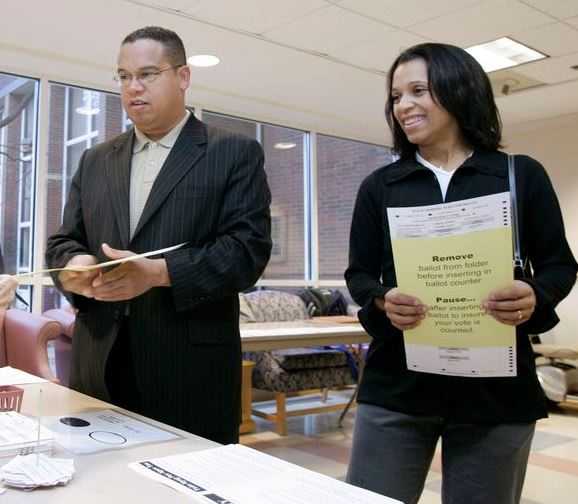 Keith Ellison and Kim Ellison