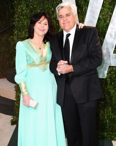 Mavis with her husband, Jay Leno