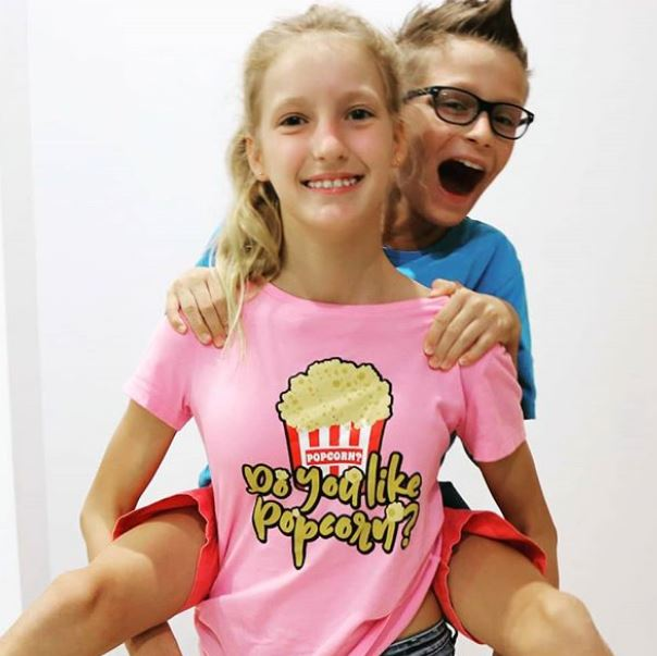 Ronald with his sister, Karina Kurzawa