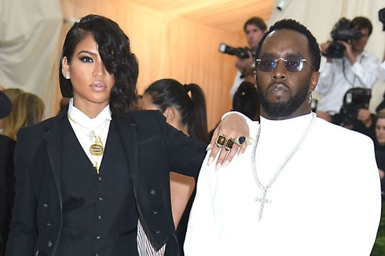 Cassie Ventura and Sean Combs