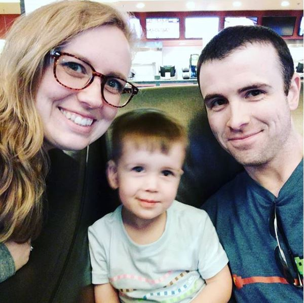 Drlupo with Wife, Samantha and Son