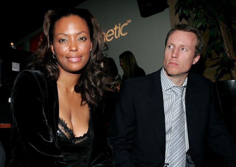 Jeff Tietjens and Aisha Tyler