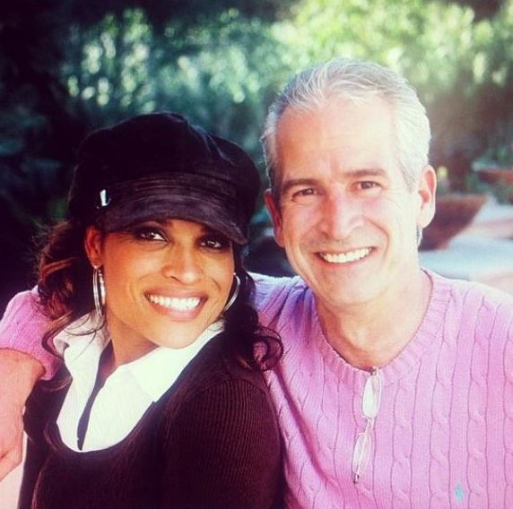 Rasheda with her husband, Bob Walsh