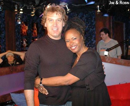 Robin Quivers and Jim Florentine