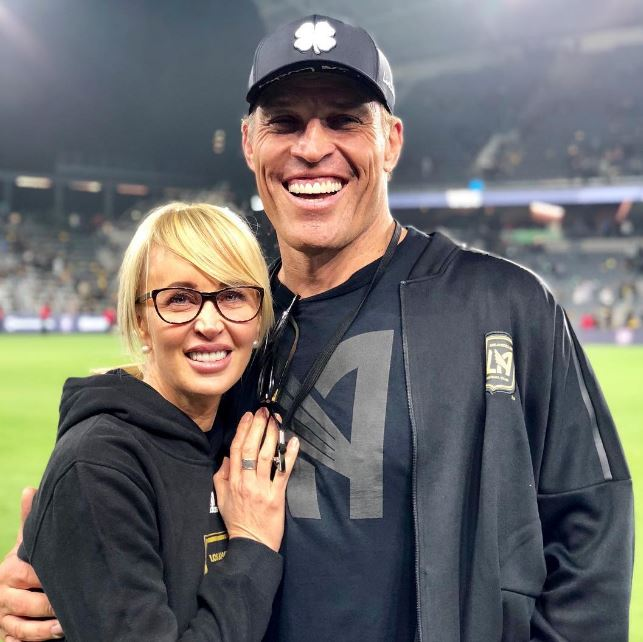 Sage with her husband, Tony Robbins