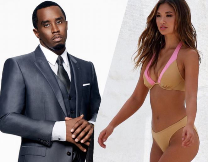 Sean Diddy Combs and Jocelyn Chew