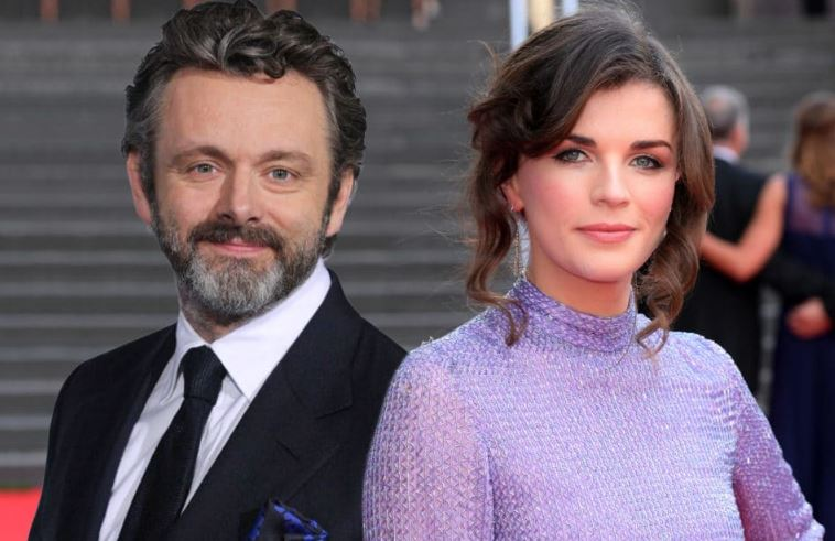 Aisling Bea and Michael Sheen