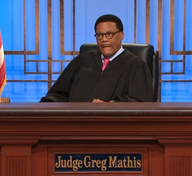 Gregory in Judge Greg Mathis