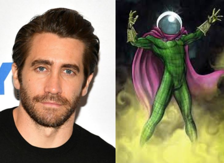 Jake will star as Mysterio in Spider Man Far From Home