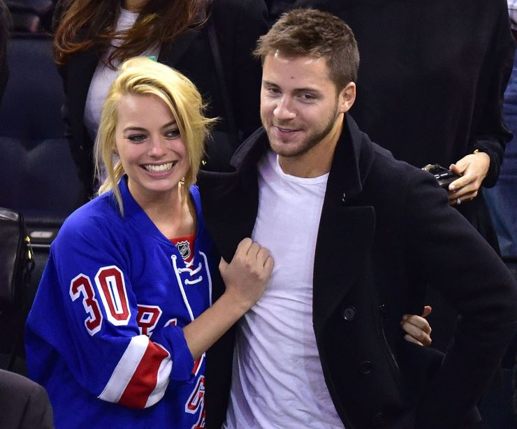 Margot with her husband, Tom Ackerley