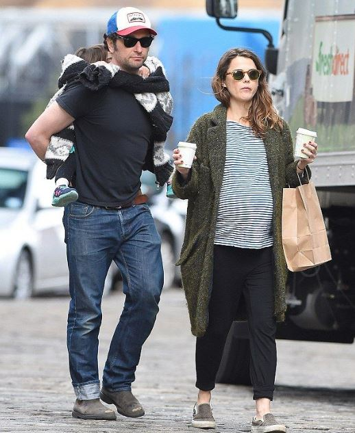 Matthew Rhys with his girlfriend, Keri Russell