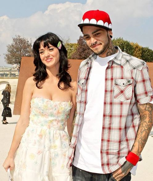 Travie McCoy and Katy Perry