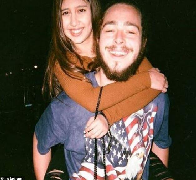 Ashlen Diaz with his then-girlfriend