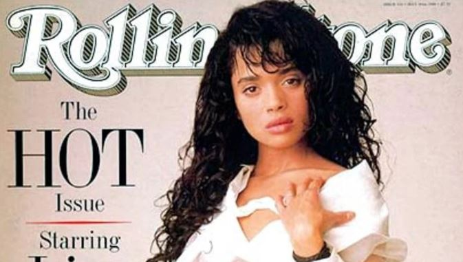 Lisa modeled for Rollingstone cover page in 1988