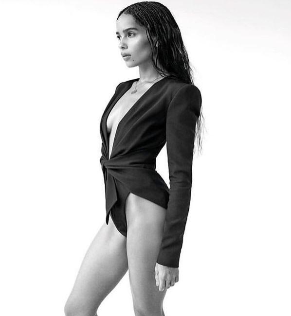 Zoe Kravitz height, weight, measurement