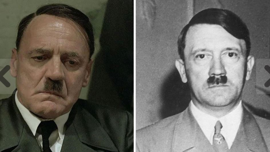 Bruno Ganz as Hitler