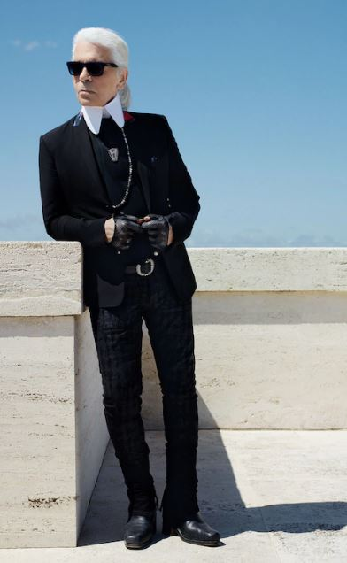 Karl Lagerfeld Body Measurements, Height, Weight