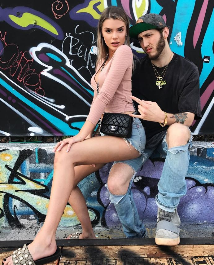 Alissa with her boyfriend, FaZe Banks