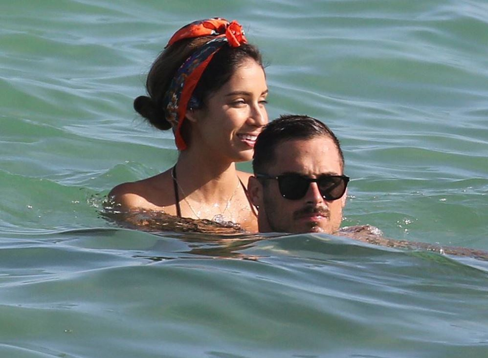 Bianca Peters, spotted with Danny Amendola