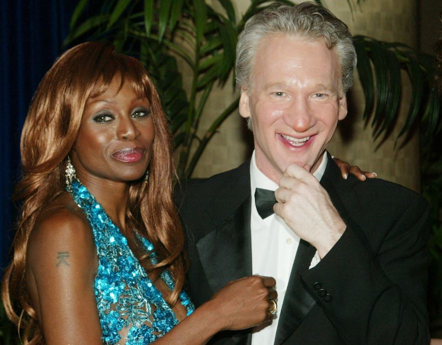 Bill Maher with Coco Johnsen, they once dated each other