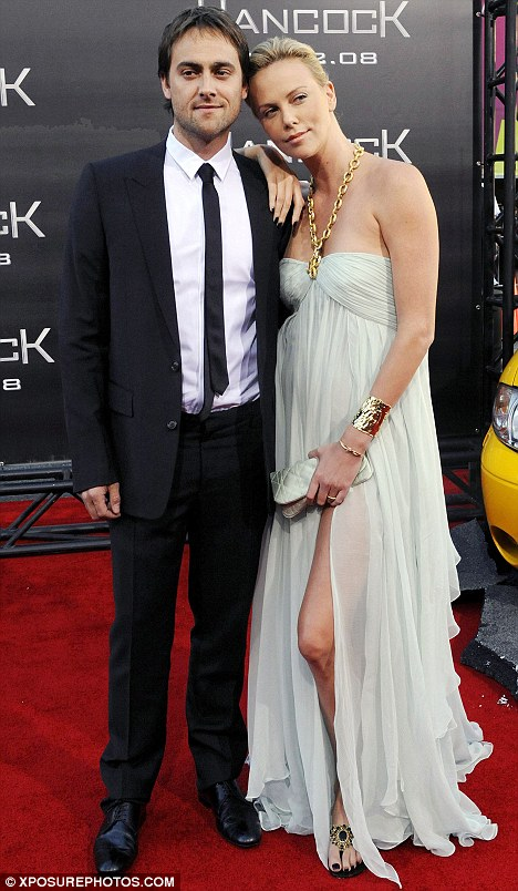 Charlize Theron with ex-husband Stuart Townsend