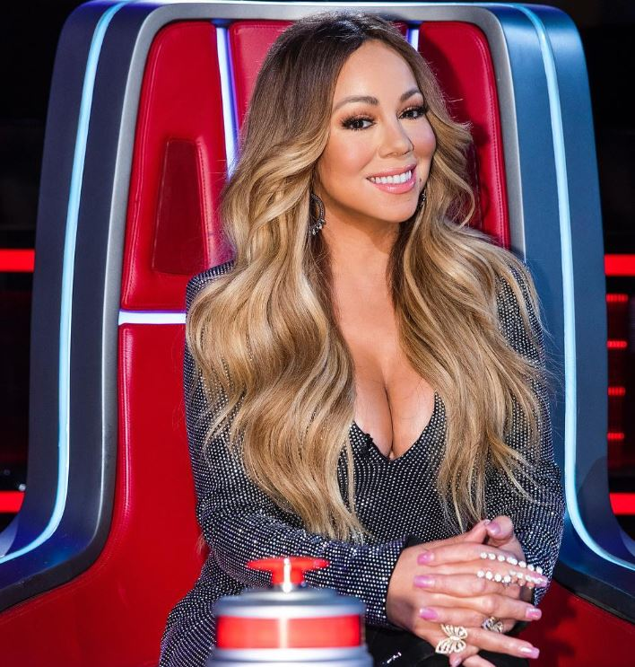 Mariah in The Voice show