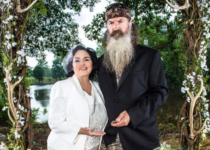 Phil Robertson with wife, Marsha