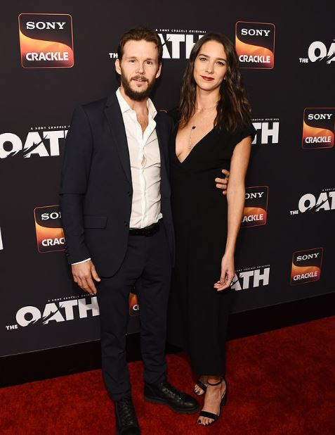 Ryan Kwanten with his girlfriend, Ashley Sisino