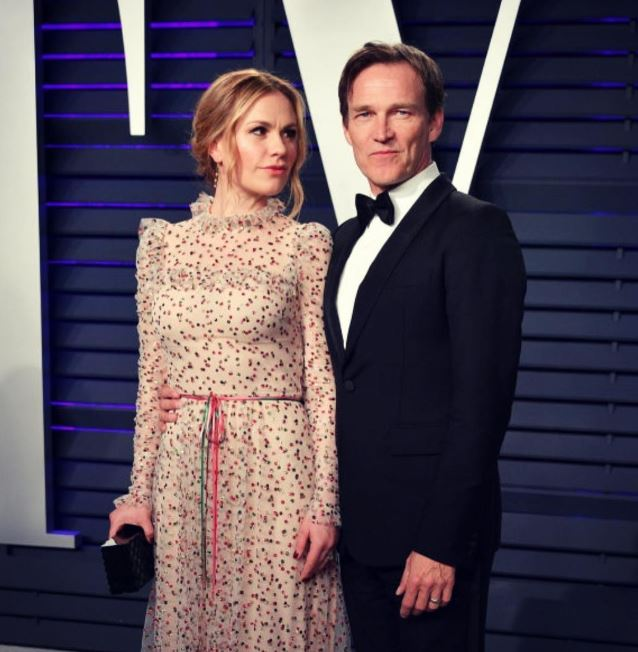 Stephen Moyer with his wife Anna Paquin