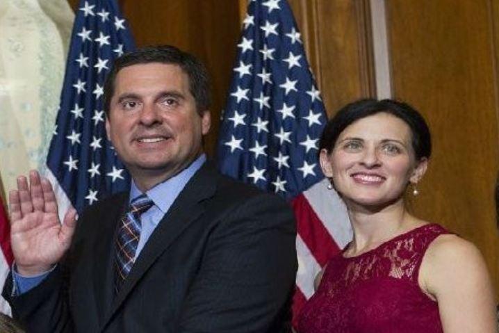 David Nunes with his wife, Elizabeth Nunes
