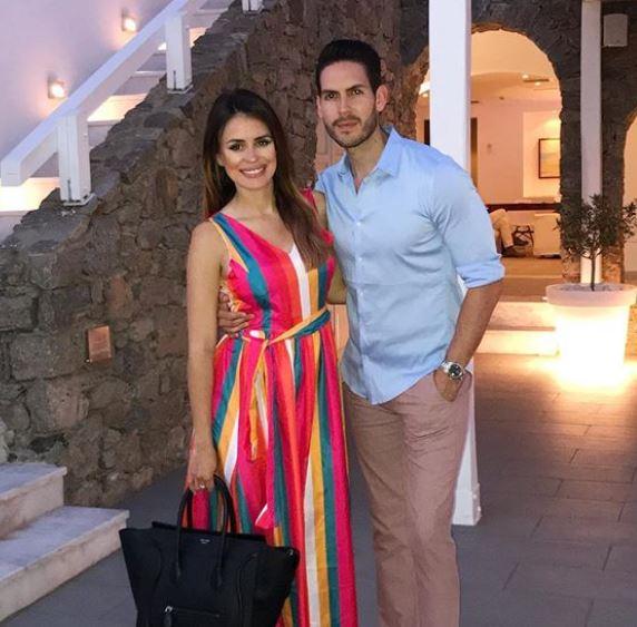 Carolina Sarassa Husband, Adres Chacon