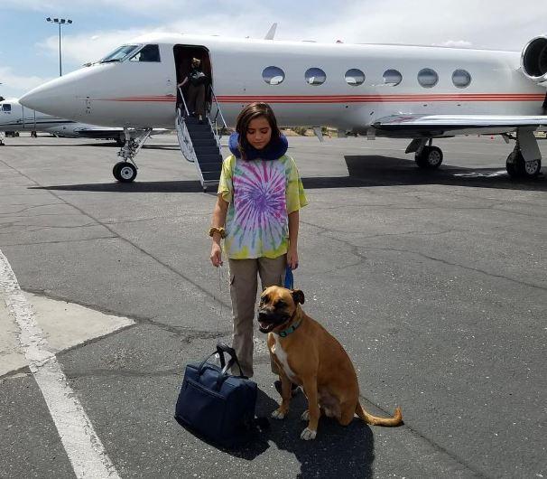 Isabela Moner Net Worth, Private Jet, dog