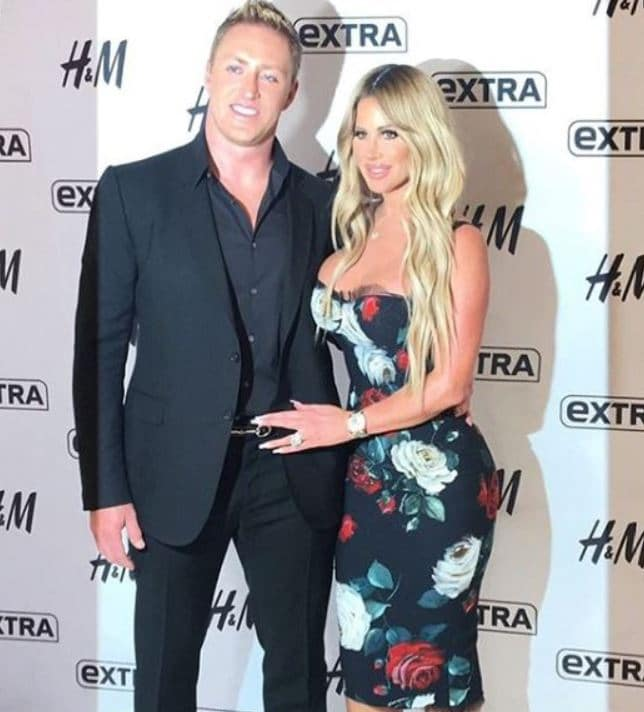 Kim Zolciak with her husband, Kroy Biermann