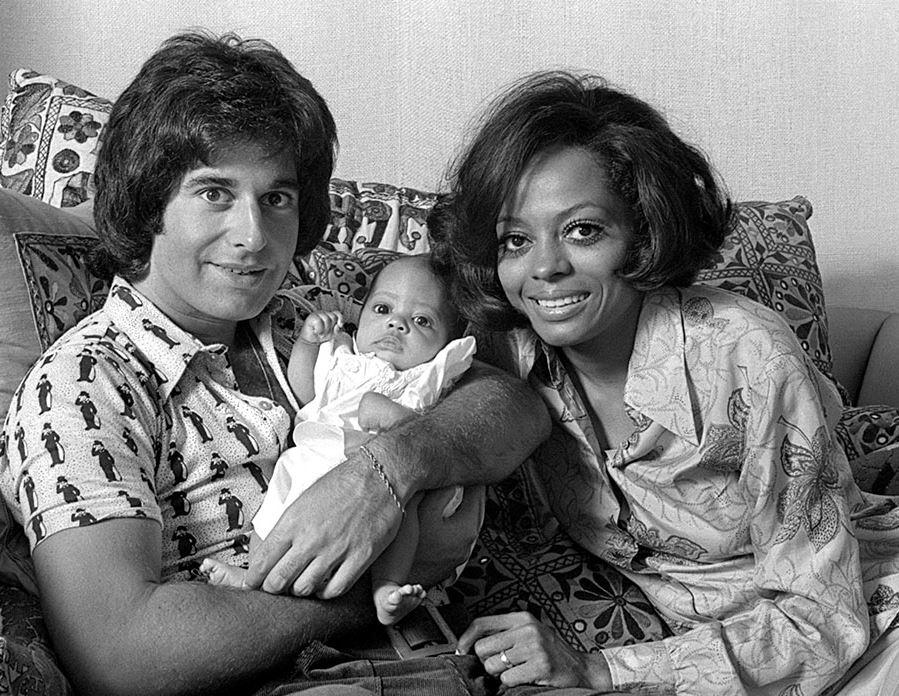 Robert Ellis Silberstein and Diana Ross