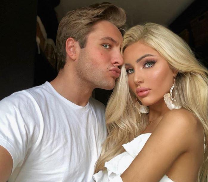 Katerina Rozmajzl boyfriend, Czarek Czworkowski