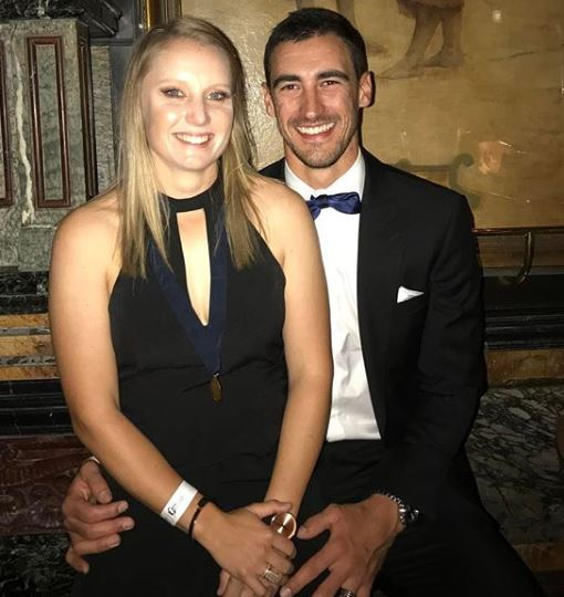 Mitchell Starc Wife, Alyssa Healy