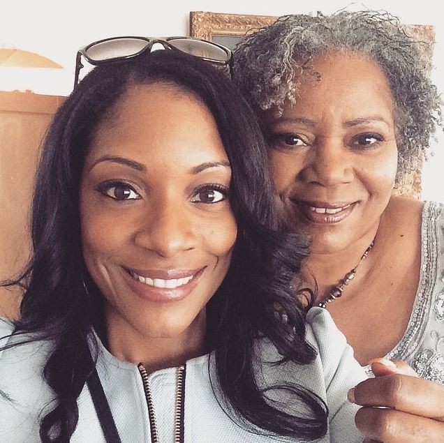 Zerlina Maxwell with her mother