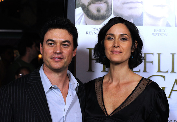 Carrie Anne Moss Married, Husband, Steven Roy
