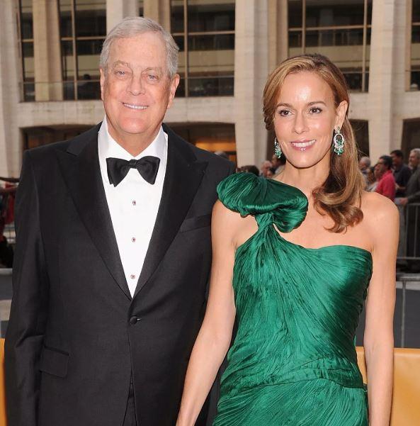 David Koch and Julia Flesher
