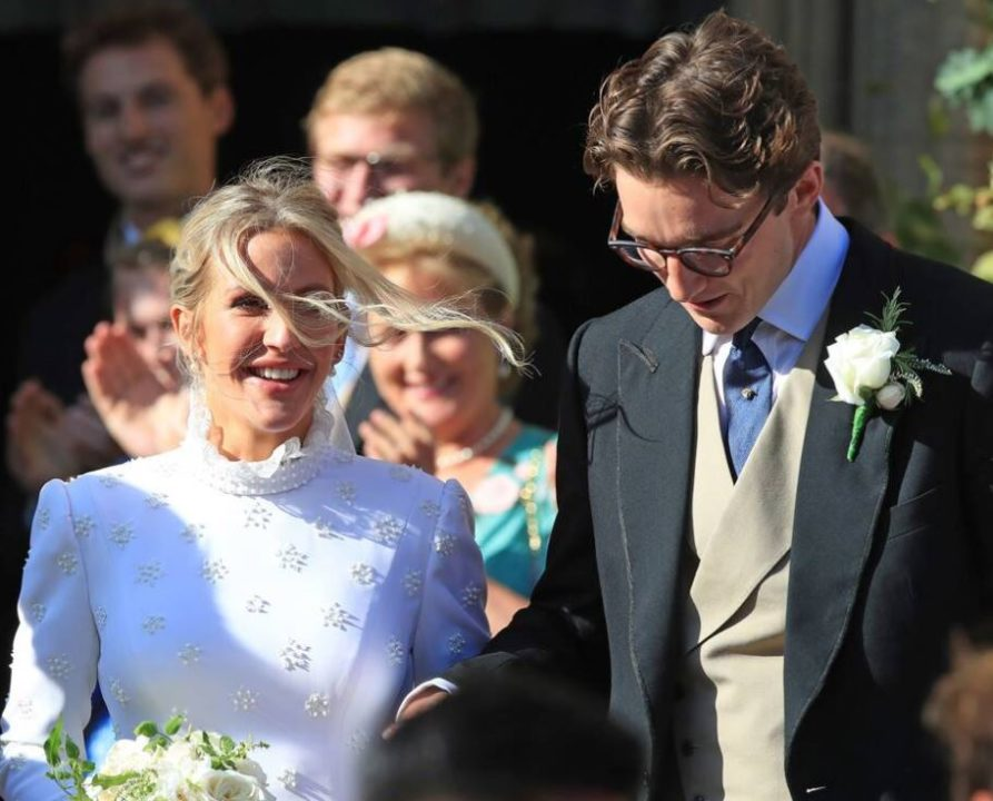 Ellie Goulding and Caspar Jopling wedding