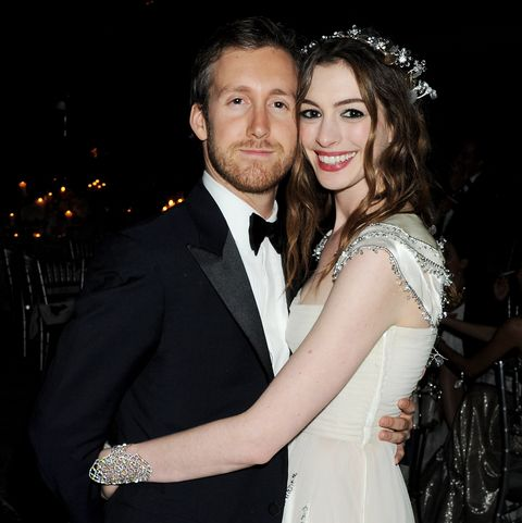 Anne Hathaway married, husband, Adam Shulman