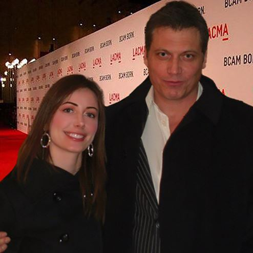 Holt McCallany Married, Wife, Nicole Wilson