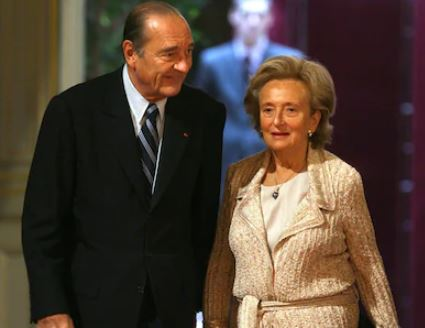Jacques Chirac Wife, Married, Bernadette Chirac