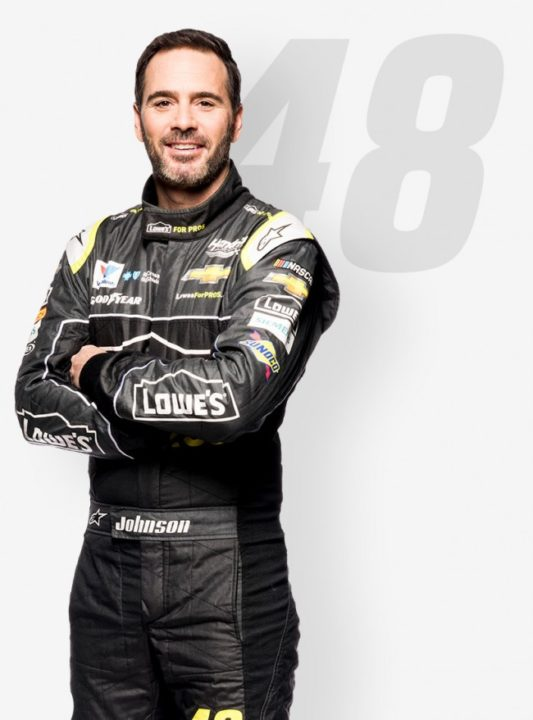 Jimmie Johnson Height, Weight, Body Measurement