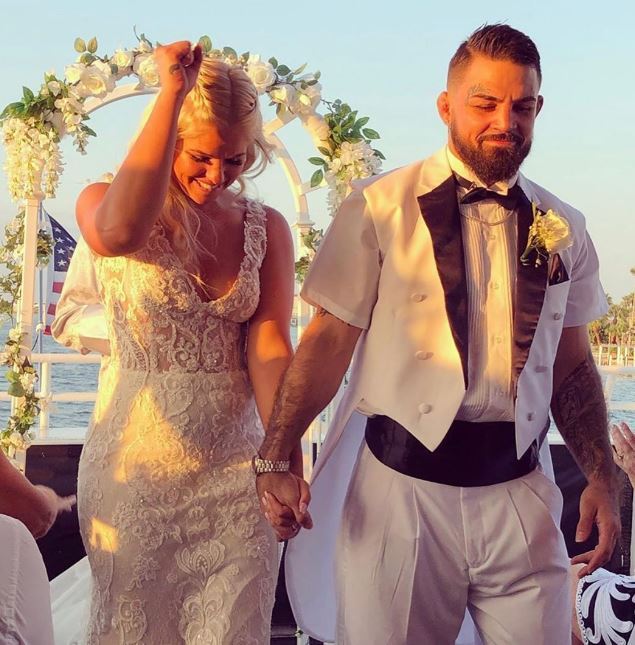 Mike Perry married, wife, Danielle Nickerson
