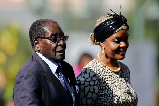 Robert Mugabe Married, Wife, Grace Marufu