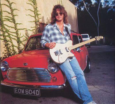Eddie Van Halen Car, Net Worth
