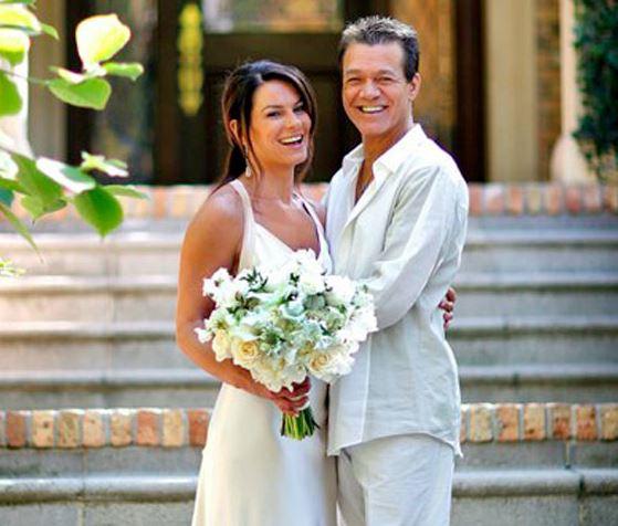 Eddie Van Halen Married, Wife, Janie Liszewski